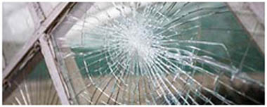 Swiss Cottage Smashed Glass